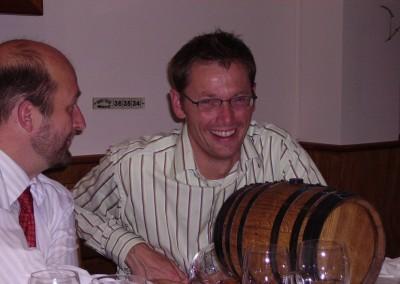 2005 Tap selv tønde - efter dinner første aften