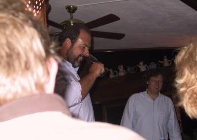 2005 Christiano og Dirk på Chanceleiros