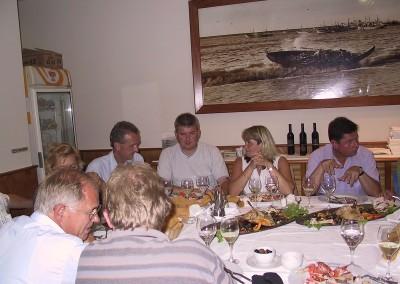 2005 Dinner første aften