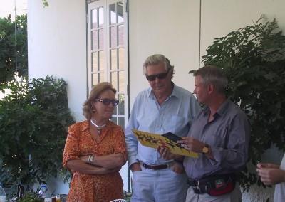 2005 Robertson med frue og Jan på Vargellas