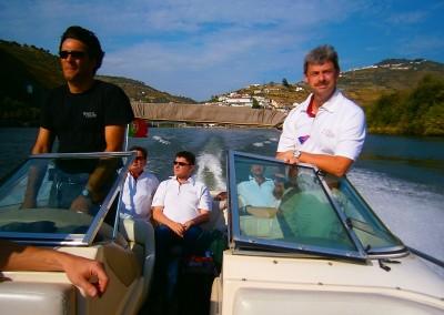2011 Med Miguel på Douro