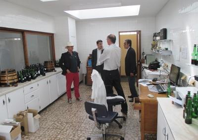 2014 Besøg hos Andresen med Carlos og Alvaro