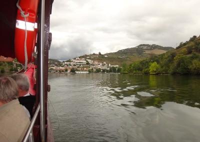 2014 Pinhao set fra båd til Panascal