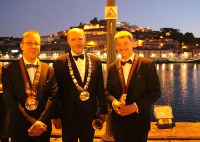 2015 Confraria - George Sandeman med to danske venner