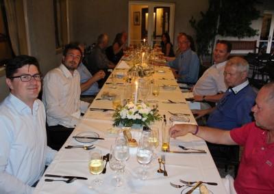 2015 Dinner Porto Tennisklub med Alvaro van Zeller