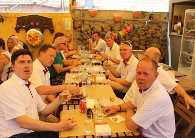 2015 Frokost med burger, øl og Alvaro