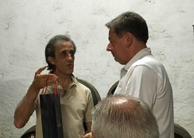 Carlos Flores og Per Stenaa