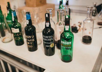 Krohn smagning flasker 4