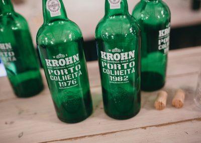 Krohn smagning flasker 3