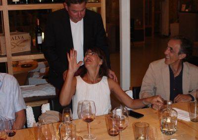 Teresa & Carlos Flores samt kassereren