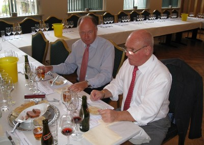 WMD 2009 Frokost med Nick Health og Jan Reimer