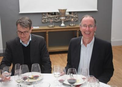 WMD 2014 Alvaro og Marko under middagen