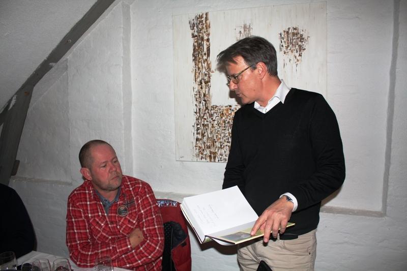 Peter Skov i samtale med Marco Andreis